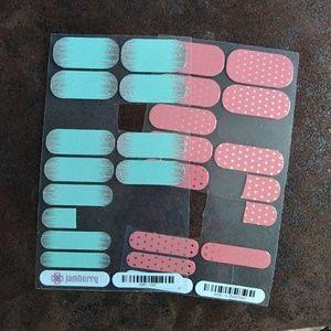 Jamberry 2 partial nail sheets